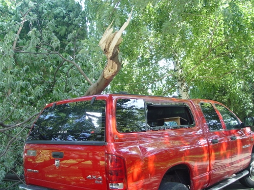 Not my truck!