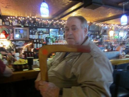 Butch and boomerang
