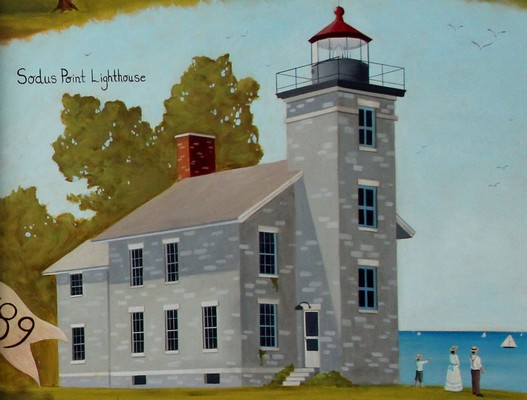 Sodus Point Lighthouse 527x400