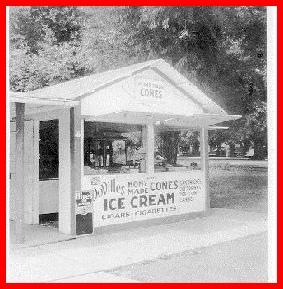 DoVilles Ice Cream Stand Photo