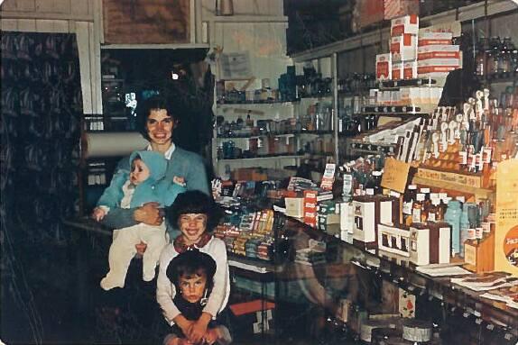 inside of store by Daniel Underhill