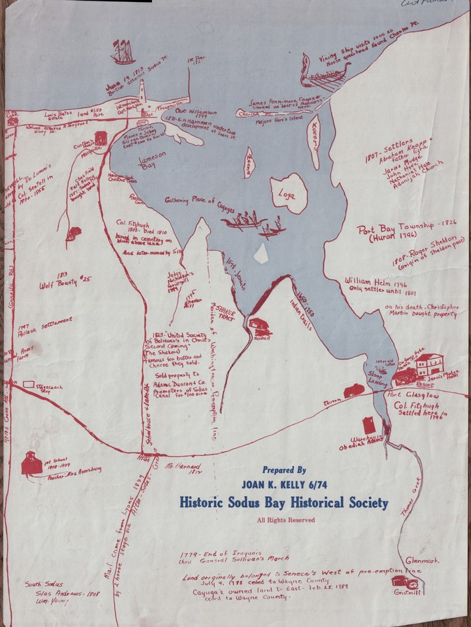 Old map with historic annnotations 686x